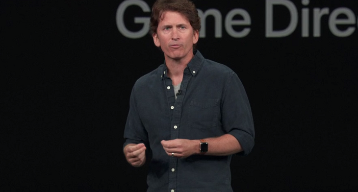 Todd Howard, Game Director, Bethesda. (Source: Screenshot apple.com)