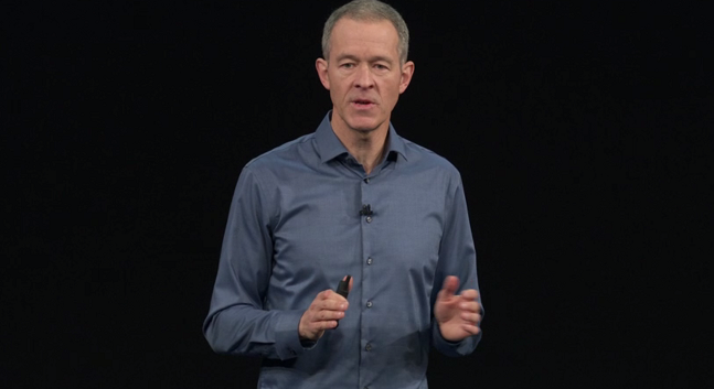 Apple-COO Jeff Williams. (Source: Screenshot apple.com)