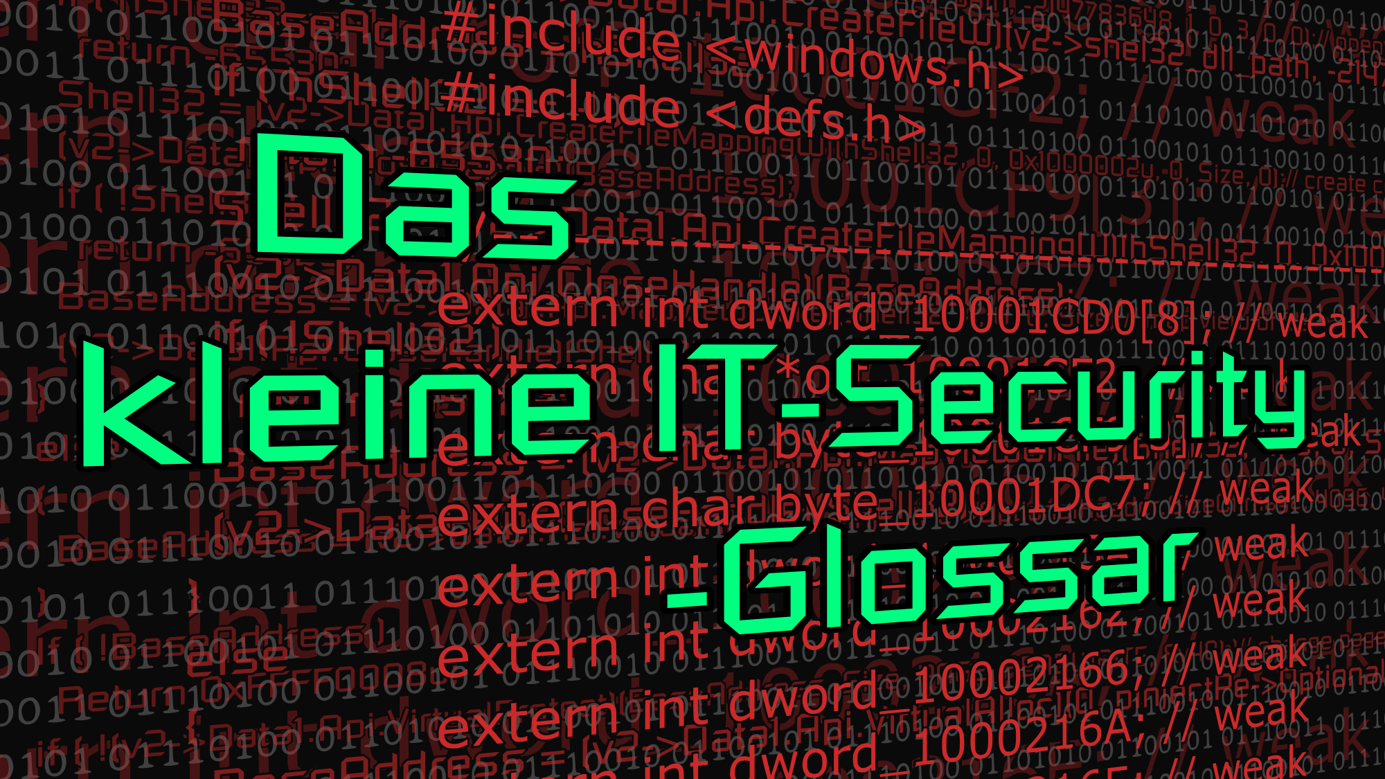 Das kleine IT-Security-Glossar